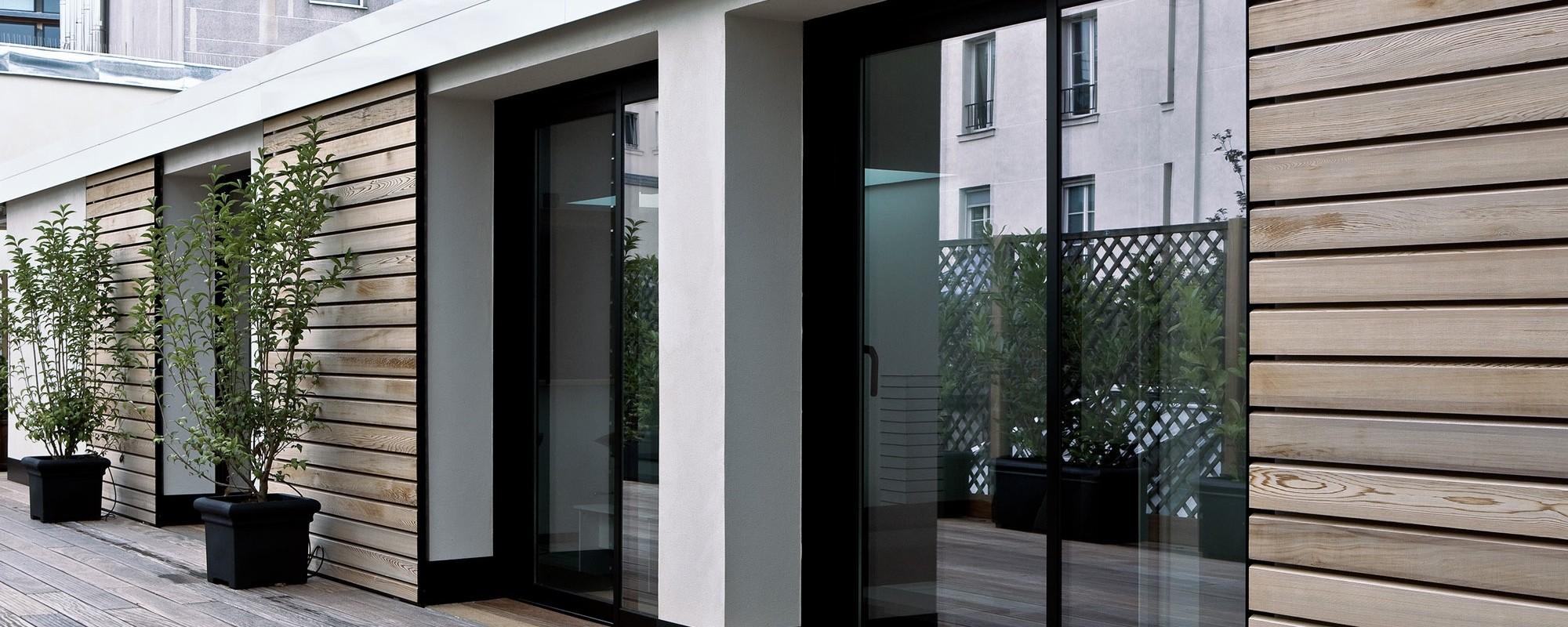 Logements sur terrasse Paris