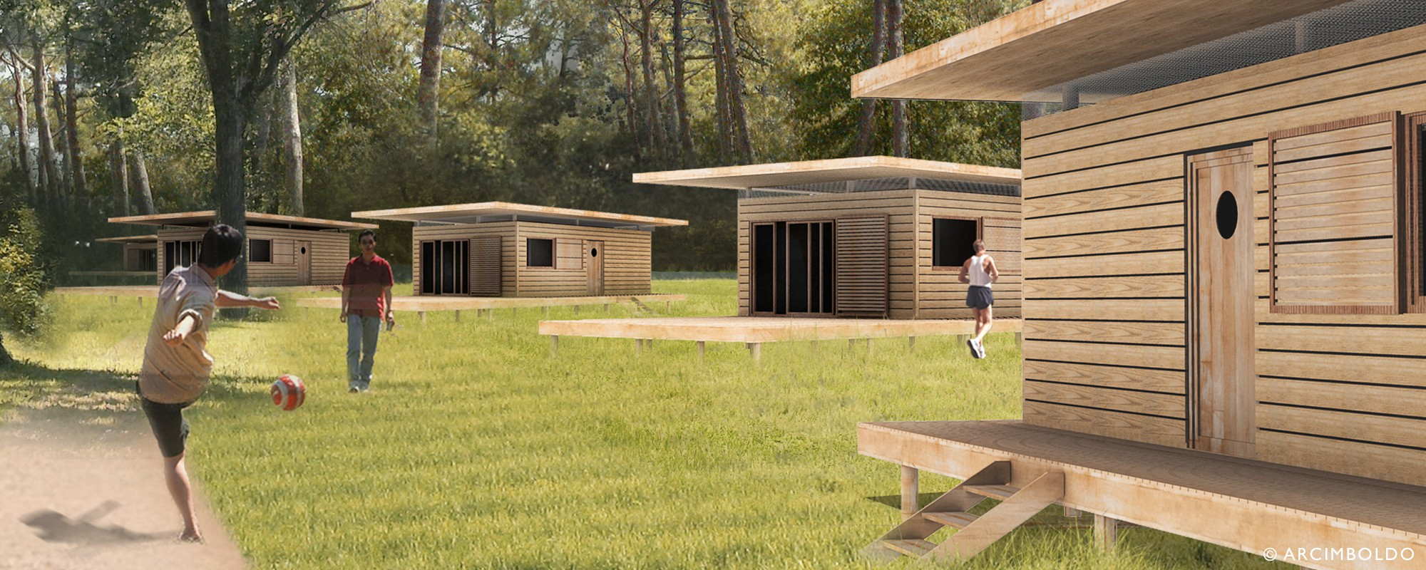 Woodbox cr ation d un prototype d habitation l g re de for Habitation legere de loisir