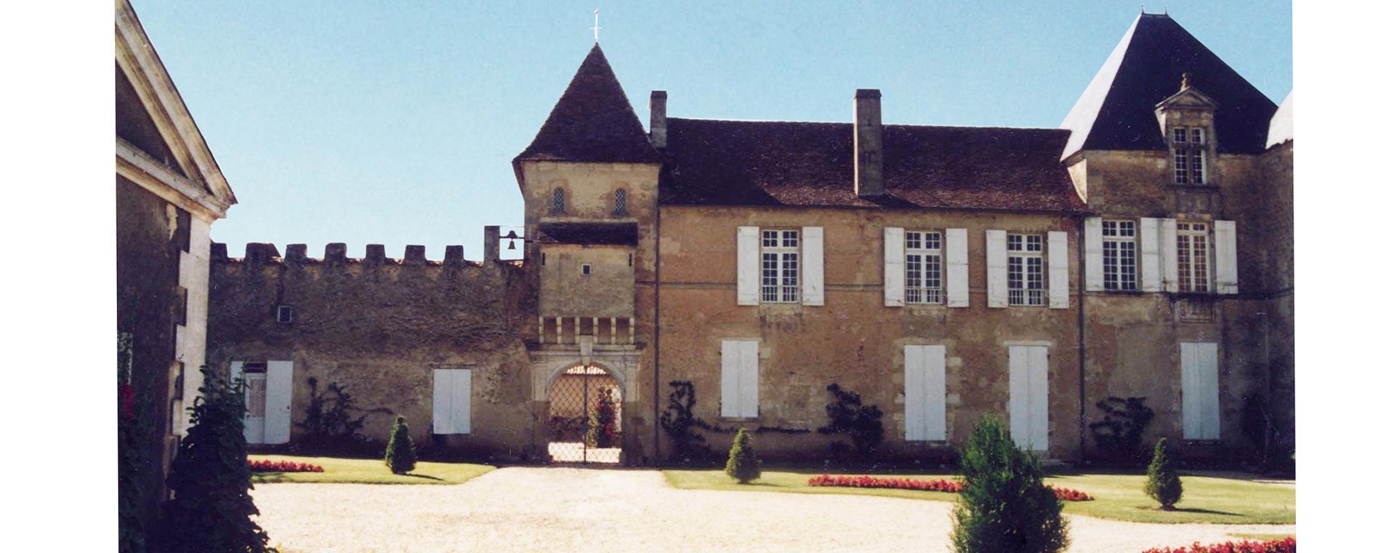 Aménagement au Château d'Yquem