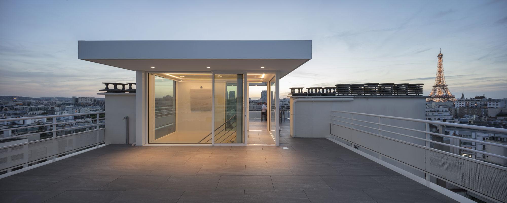 Le projet for La toiture terrasse