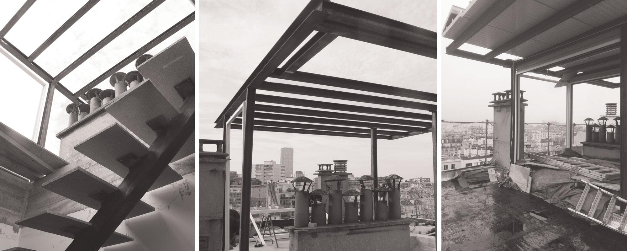 Le projet comment investir la toiture terrasse de son for Edicule toiture terrasse
